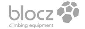 Blocz climbing equipment grey logo