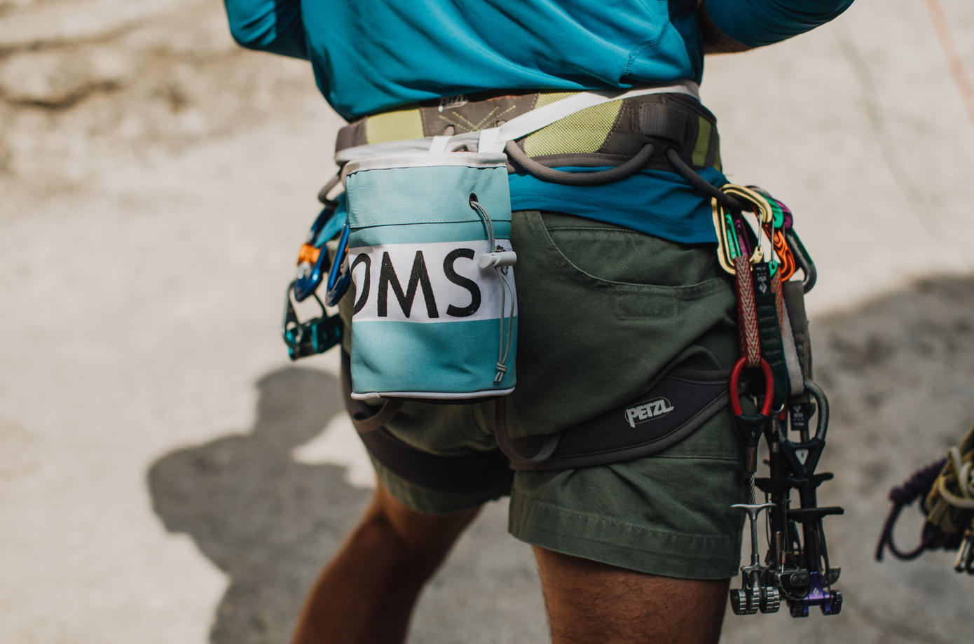 So iLL x TOMS Chalk Bag Part of 1Climb's Indiegogo Campaign.