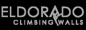 Eldorado climbing walls grey logo