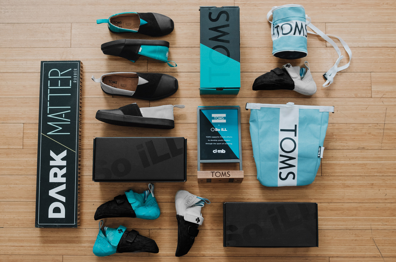 So iLL x TOMS Product Collaboration for 1Climb campaign.