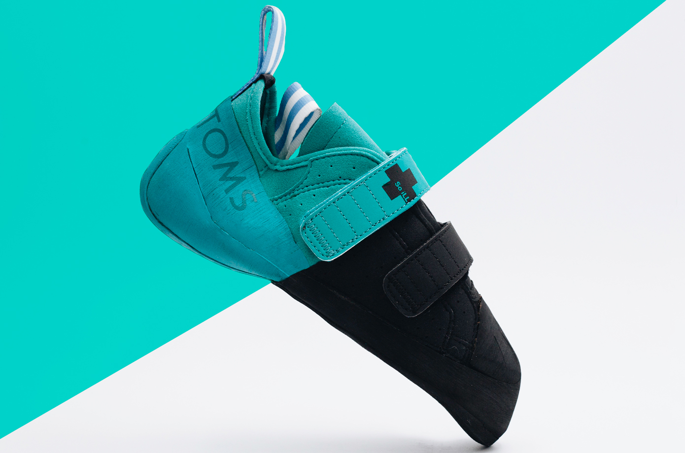 So iLL x TOMS Women's Street LV with Dark Matter Rubber. Part of 1Climb's Indiegogo Campaign.