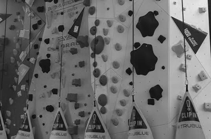 a mockup of the next 1climb wall in denver is shown